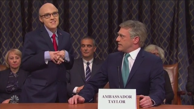 SNL Mocks Impeachment Hearings 'Pizzazz' in Cold Open