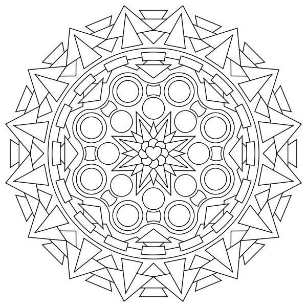 Fresh Free Printable Abstract Coloring Pages 79 Free Printable Mandala Coloring