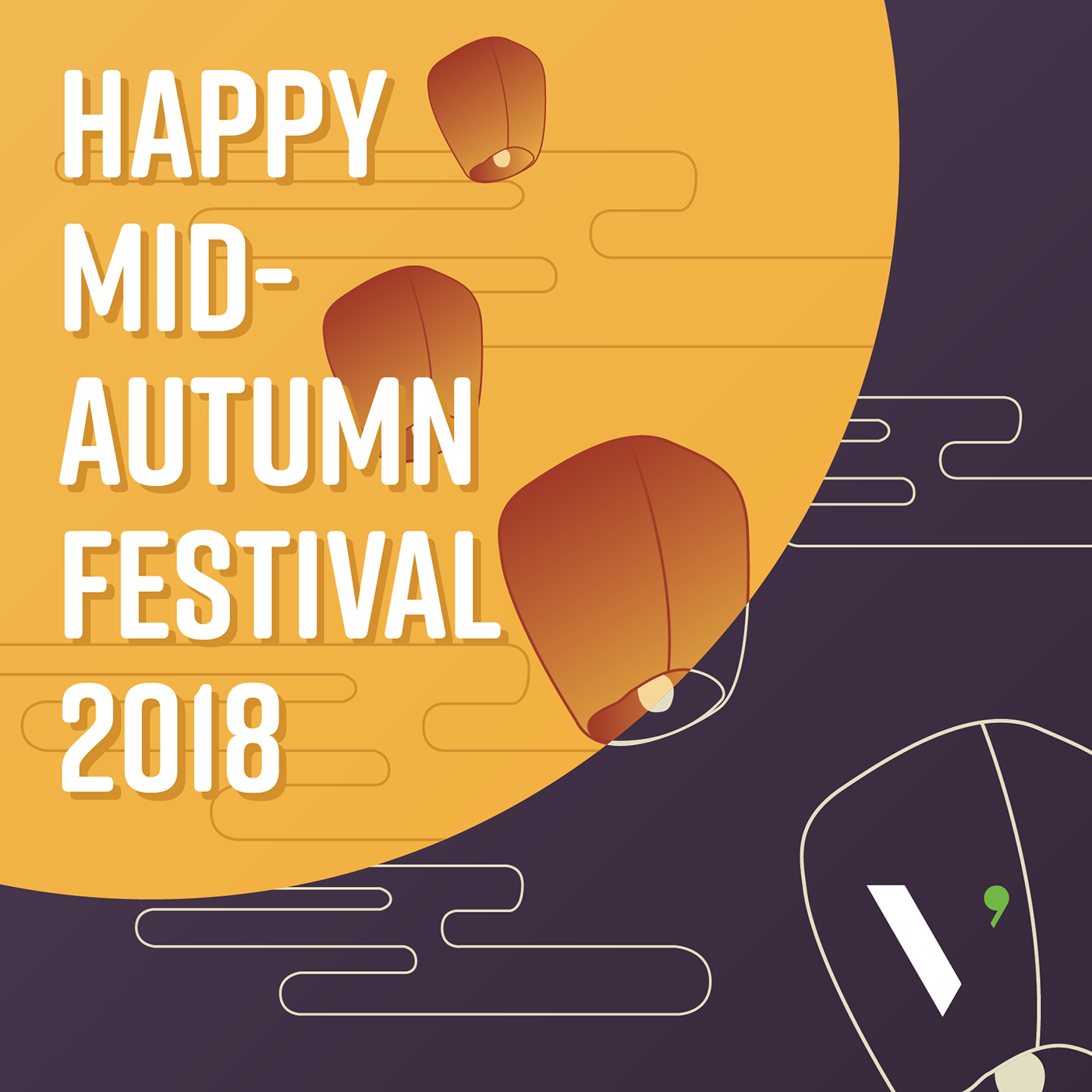 Happy Mid-Autumn Festival 2018 on Behance   临时   Happy mid