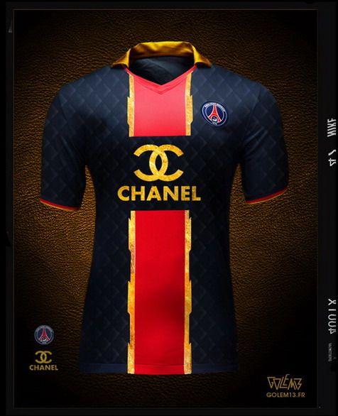 separation shoes ce3e2 c7bf8 Maillot PSG Chanel - Golem13 | Paris Saint-Germain Football ...