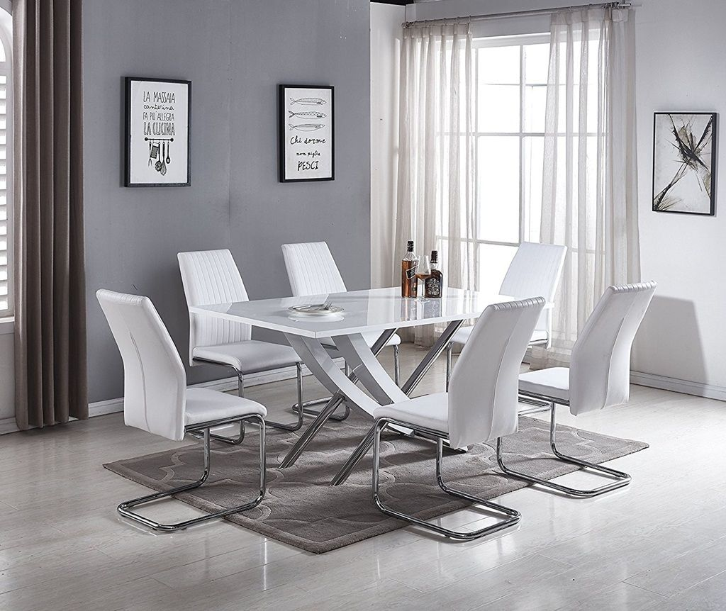 2019 Kitchen Table And Chairs Sets Between Functionality And Aesthetic Appeal Metal Dining Table Modern Dining Table Set Dining Table