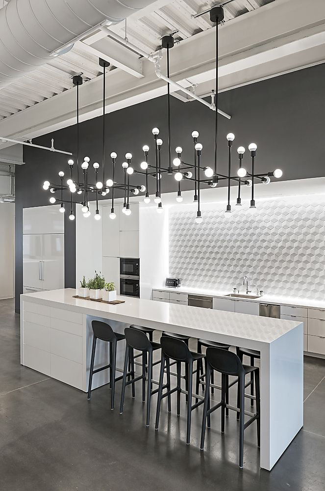 10 backsplash ideas to steal for your kitchen backsplash for Modern kitchen lighting design
