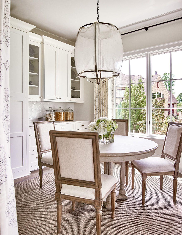 Traci Zeller Interiors | Interior Designer | Charlotte NC | Breakfast Room