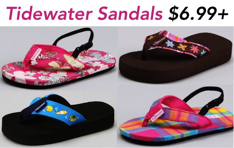 Tidewater Sandals for Kids ~ up to 55% off! {6.99+} #sandals