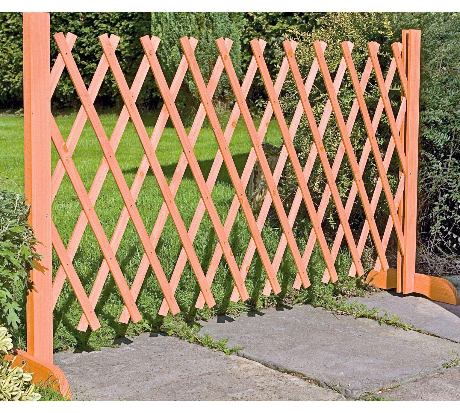 Buy Wooden Expanding Fencing Garden Fencing And Trellis Argos Outdoor Trellis Trellis Fence Garden Fencing