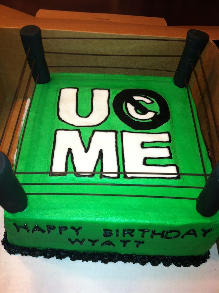 wwe cake john cena Google Search cakes Pinterest Wwe cake