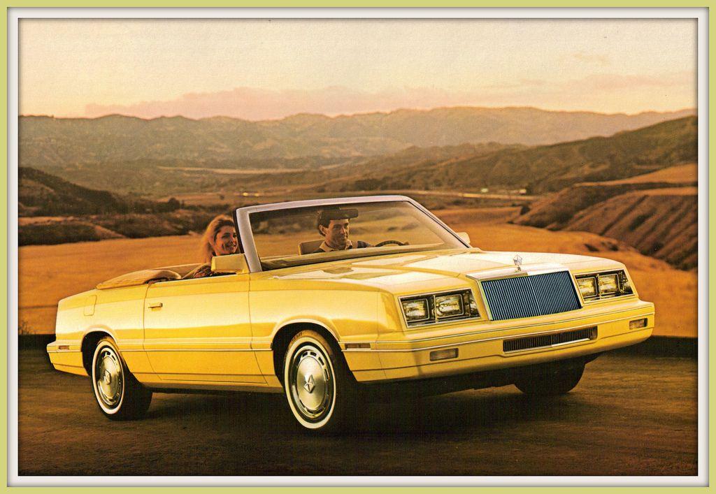 1982 Chrysler Lebaron Convertible With Images Chrysler Lebaron
