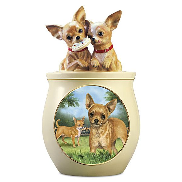 Chihuahua Cookie Jar Gorgeous Cookie Capers The Chihuahua Cookie Jar  Cookie Jars Jar And Design Decoration