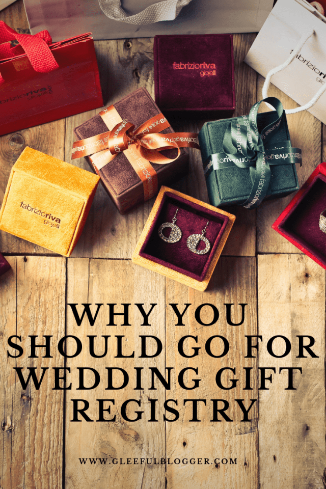 10 amazing things about doing a Wedding Gift Registry
