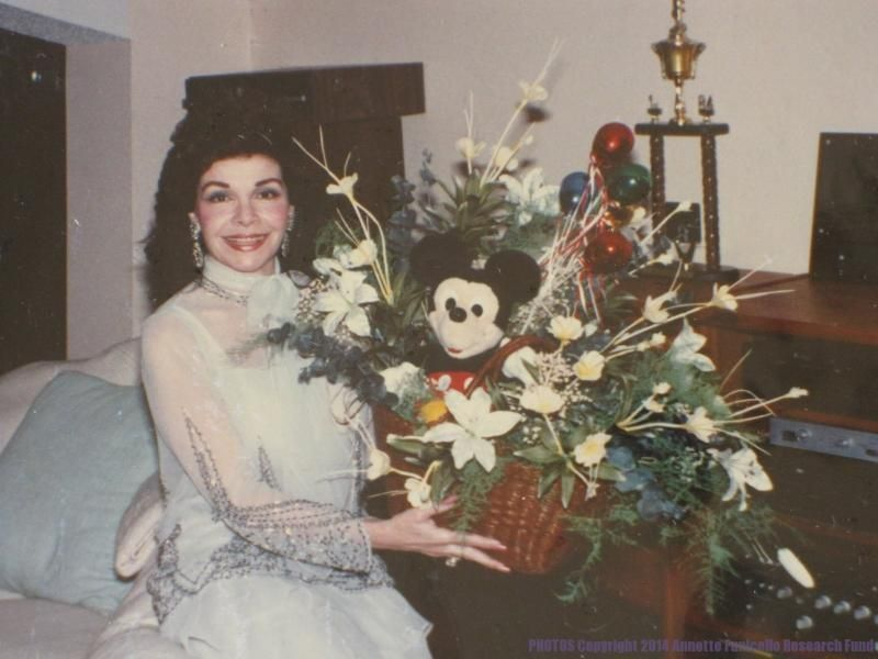 Annette Funicello And Glen Holt Wedding Flowers May 3