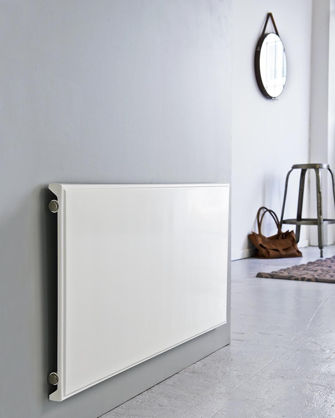 Sleek And Clean Design In This Hudevad P5 Radiator Flat Panel Radiators Radiators Flat Radiators