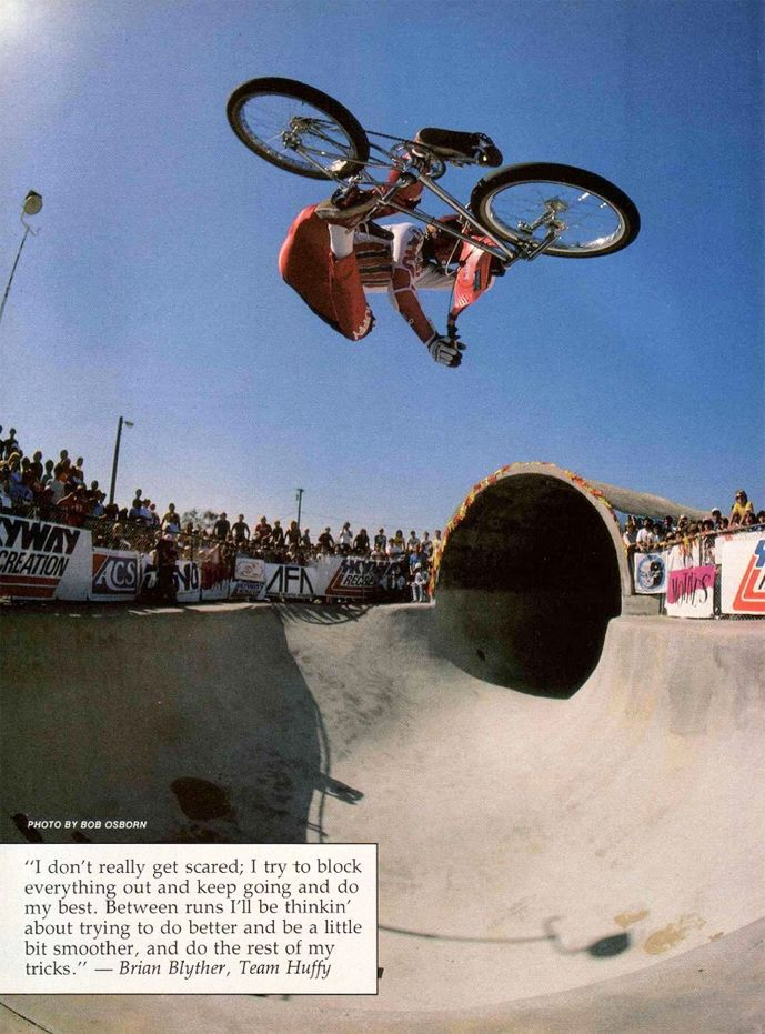 Brian Blyther Xup air at Pipeline (1985) Bmx