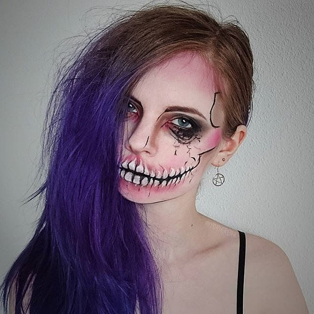 Skeleton Makeup   POPSUGAR Beauty Photo 6