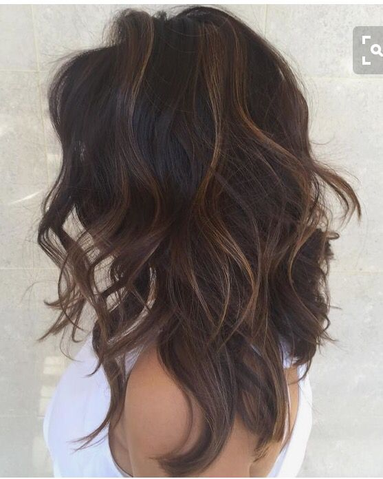 I Like This Dark With The Subtle Light Ends Hair Pinterest