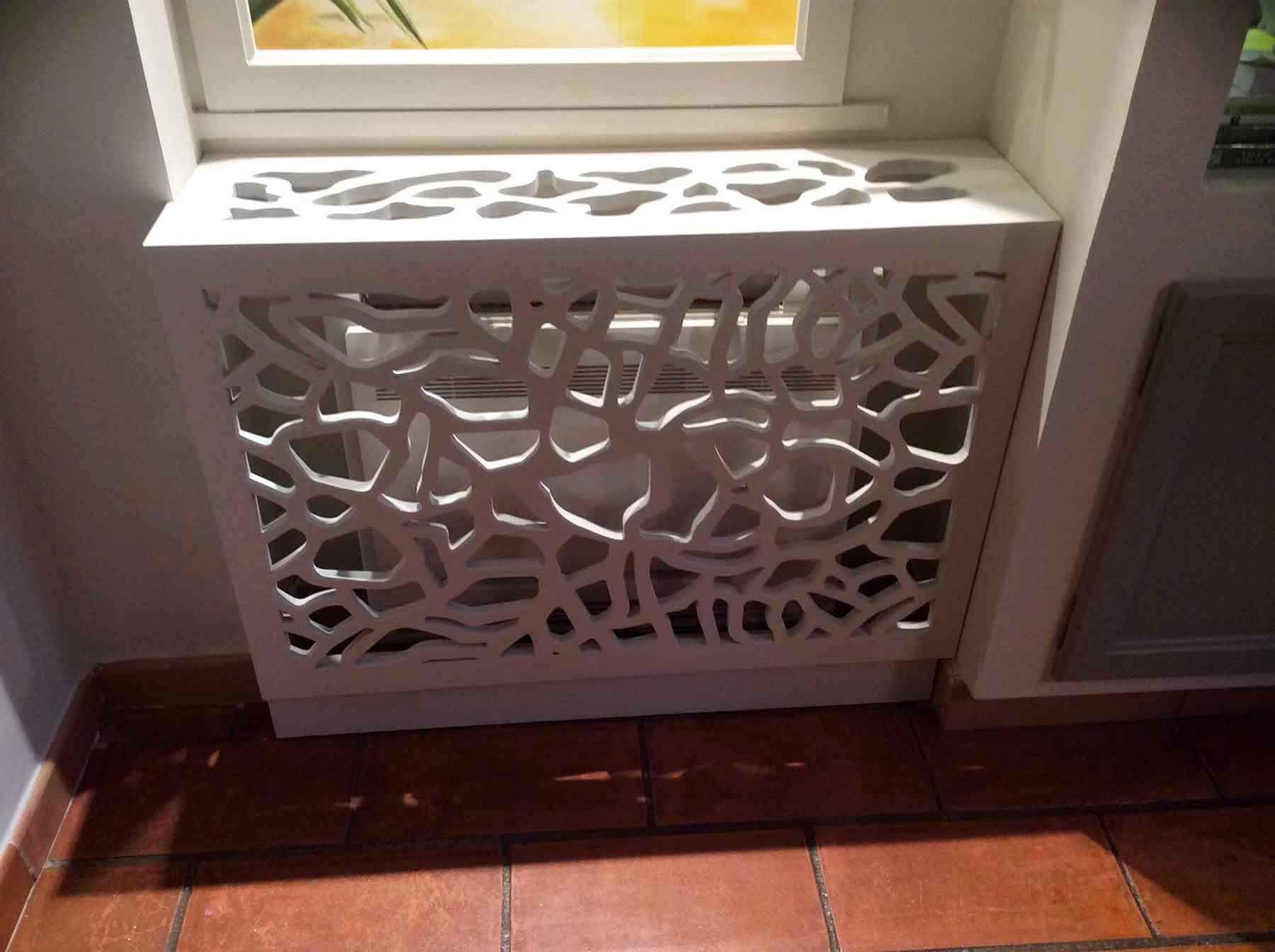 Allure Et Bois claustra sous forme de cache-radiateur design | panneau occultant