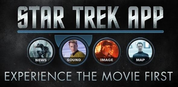 Official Star Trek Into Darkness App For iPhone And