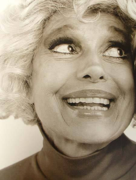 The wonderfully talented Carol Channing! Born January 31, 1921 in Seattle, Washington. At 93 years of age she is still Larger Than Life (and she still doesn't wear underwear).
