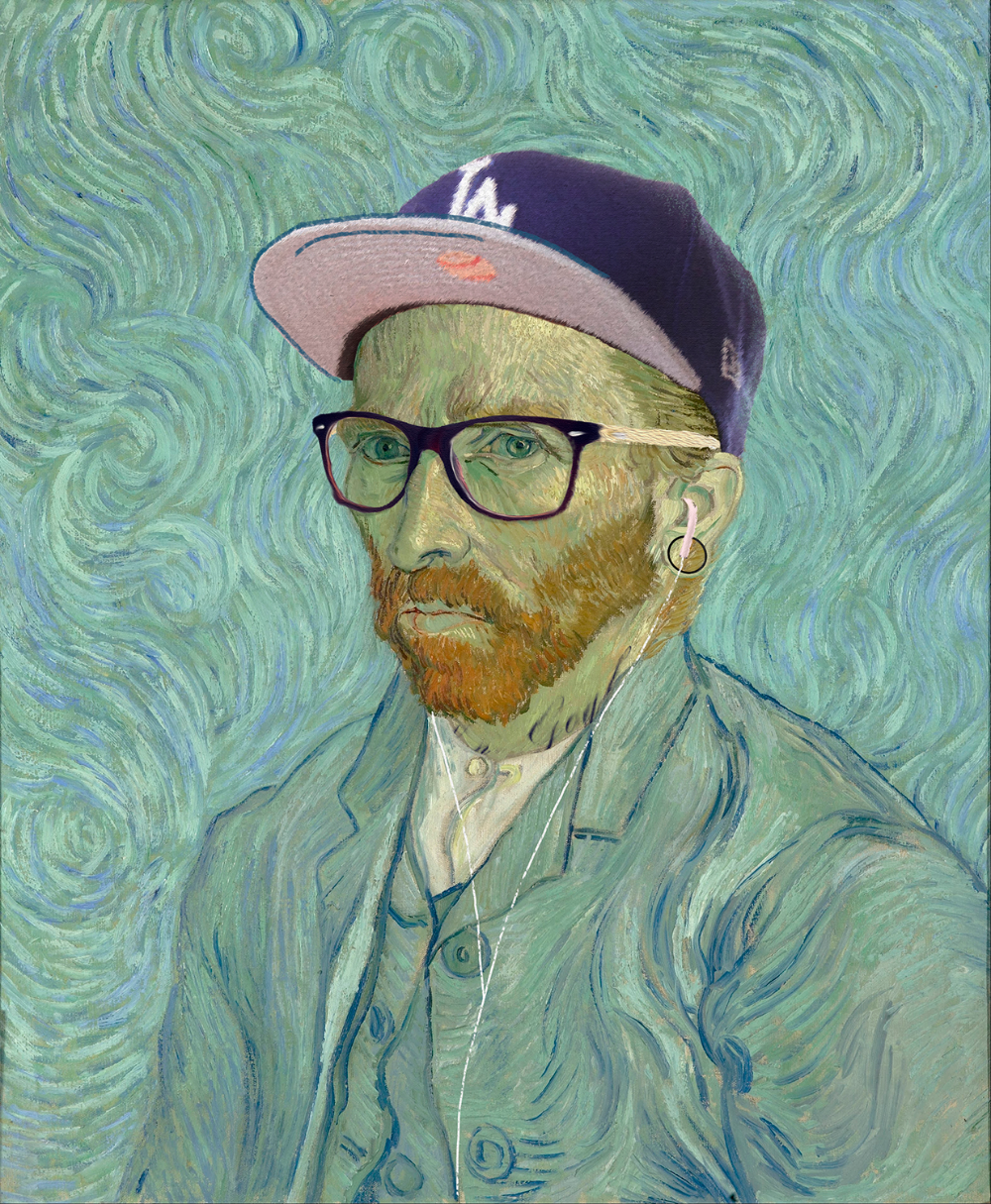 Classic Artworks Given The Hipster Look in 2020 Classic