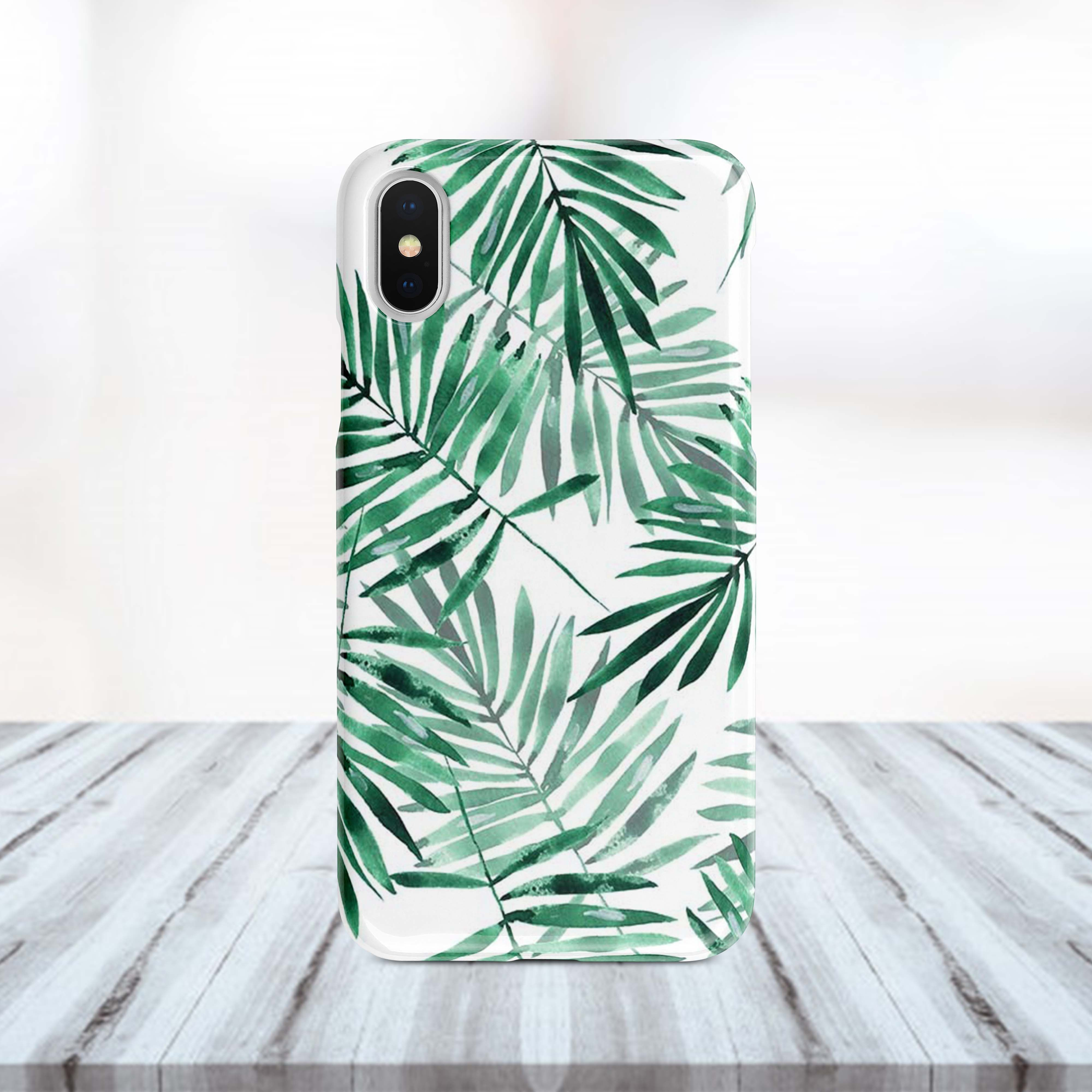 Fern iphone case Plants print case Green iphone case