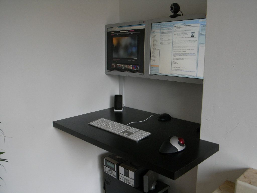 diy floating desk diy home. 23 DIY Floating Desk Ideas That Will Make Your Room Beautiful - Diy Home D