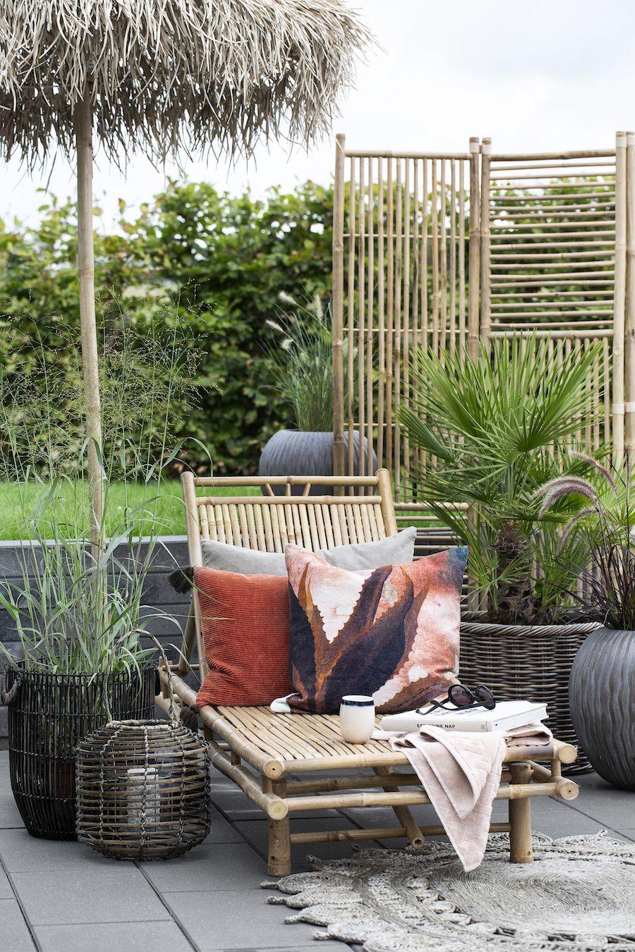 Sonnenschirm Aus Bambus Von Lene Bjerre Wohnen Im Freien