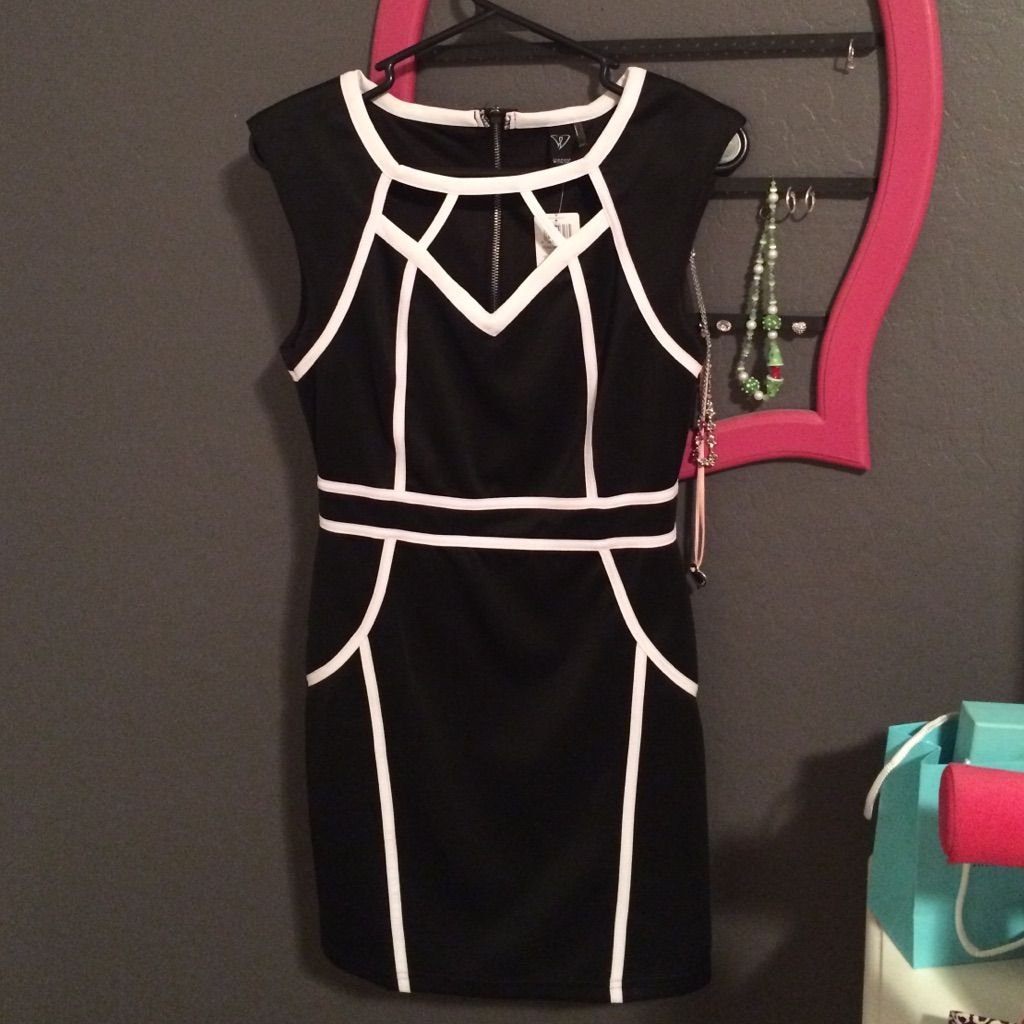White and black short formal dress products