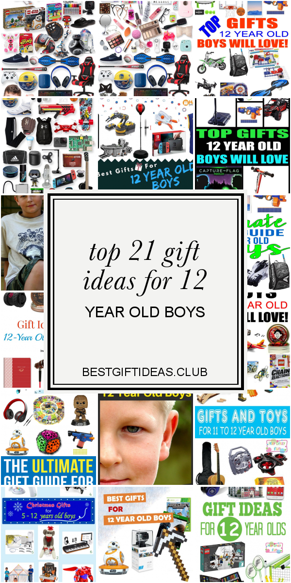 Top 21 Gift Ideas For 12 Year Old Boys Christmas Gift 12 Year Old Boy 12 Year Old Christmas Gifts 12 Year Old Boy