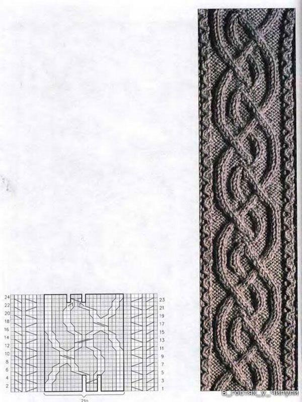 Tejer Aran. 220 patrones y diseños   Vzory - pletenie   Pinterest ...