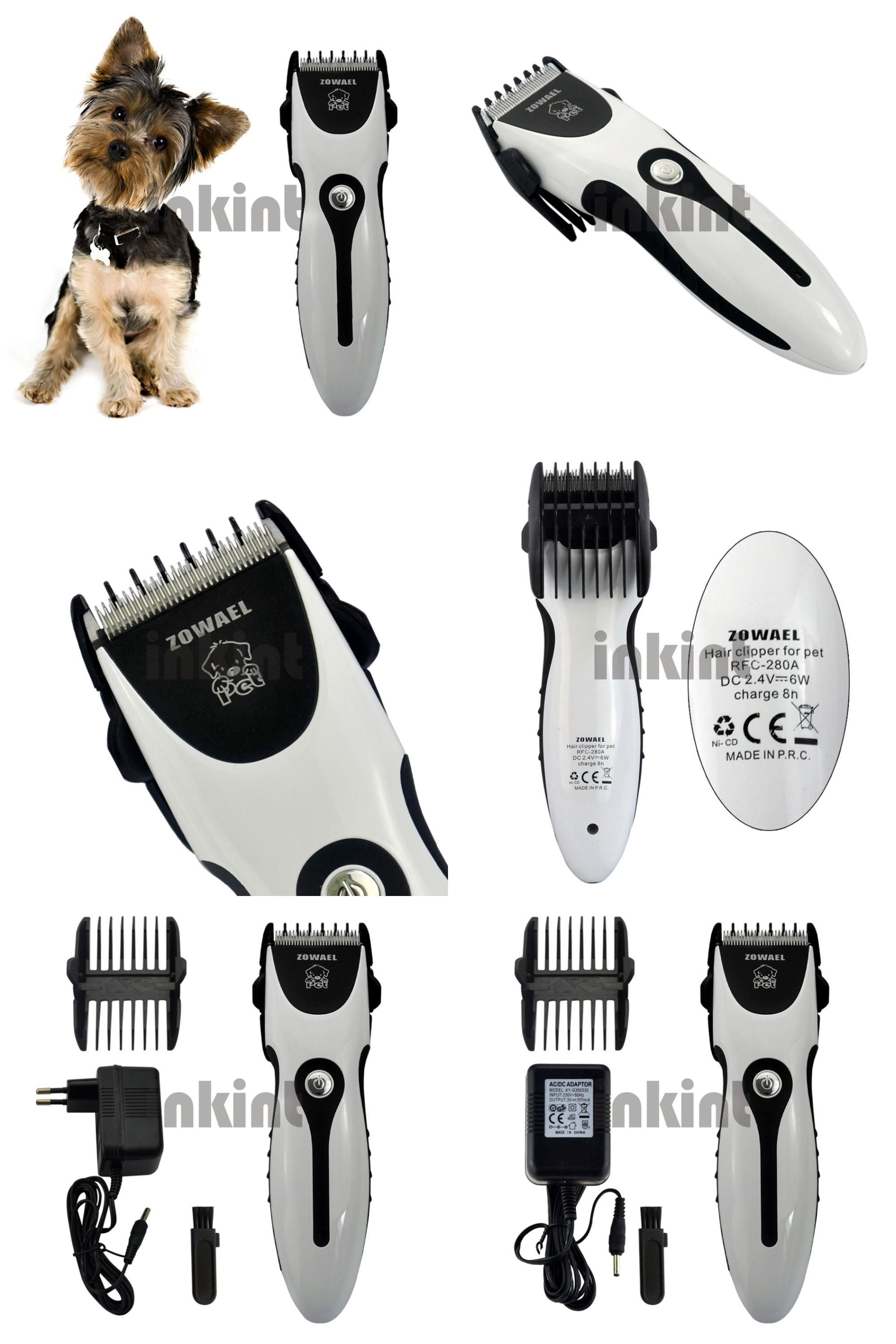 Visit to Buy] Rechargeable Cat Dog Hair Trimmer Electrical Pet Hair