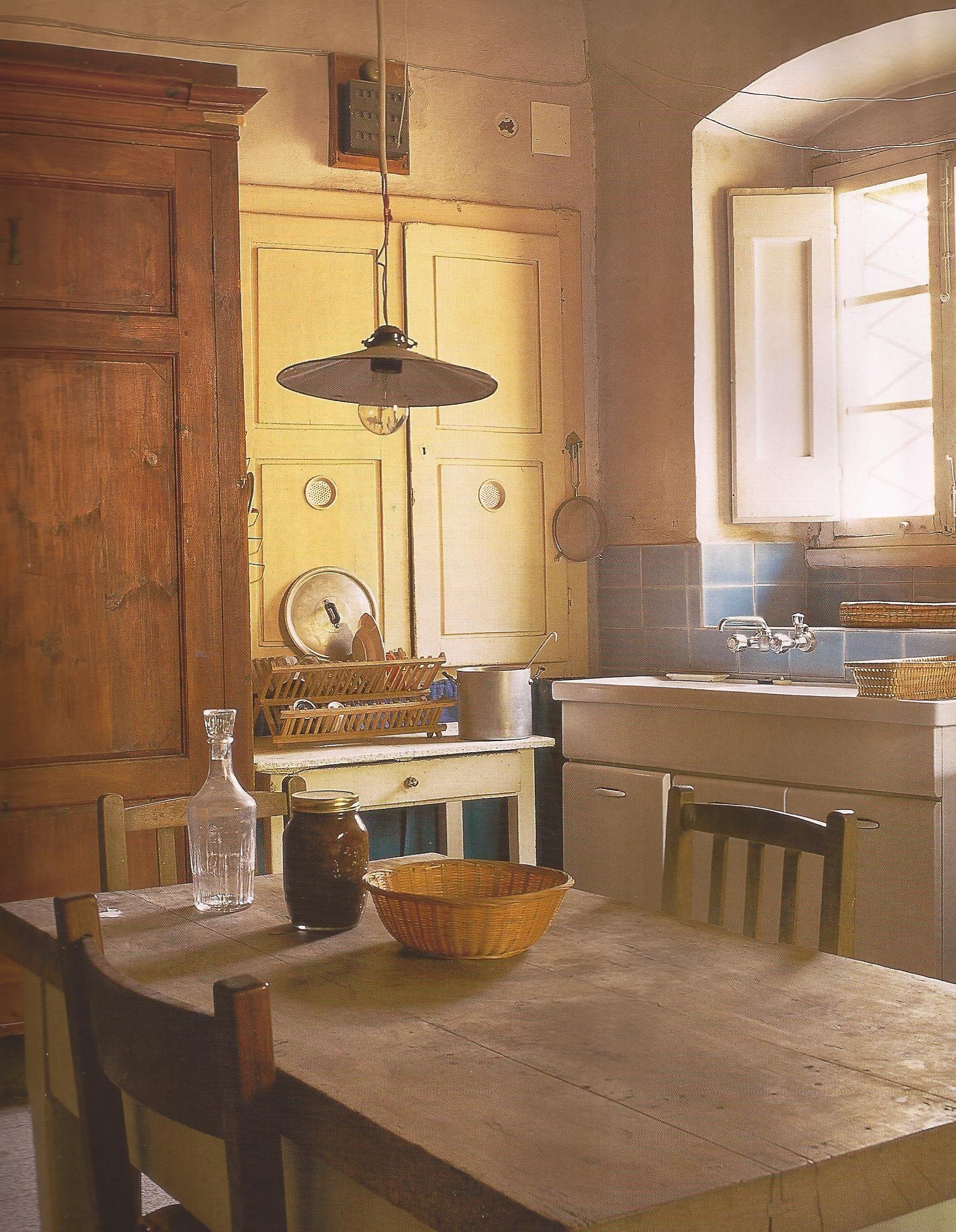 Vivre en toscane farmhouse rustic vintage u primitive