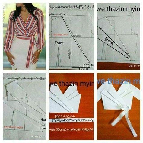 Fashion and DIY blog - Salvabrani   Blouse pattern sewing ...