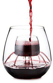 Stemless Aerating Wine Glasses Set Of 2 Wine Tumblers
