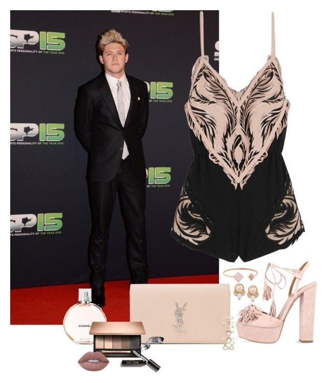 """""""Niall Horan #67"""" by ambere3love34 ❤ liked on Polyvore featuring Roberto Cavalli, Aquazzura, Yves Saint Laurent, Chanel, Accessorize, Bobbi Brown Cosmetics, Lime Crime, Carolee and Michael Kors"""