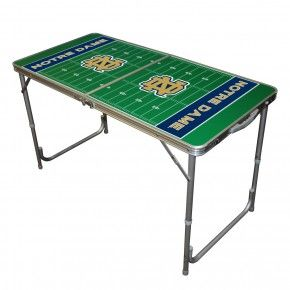 Notre Dame 2x4 Tailgate Table