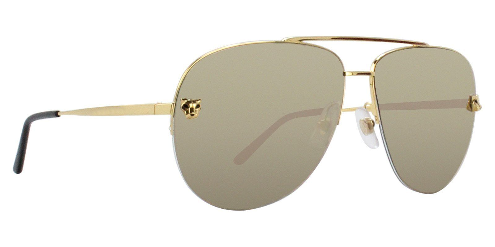 edb0a4656cb0 Cartier - Panthere Aviator ESW00094 sunglasses