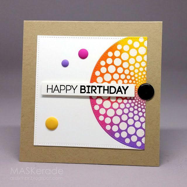 FS482 - Happy Birthday | MASKerade | Bloglovin'