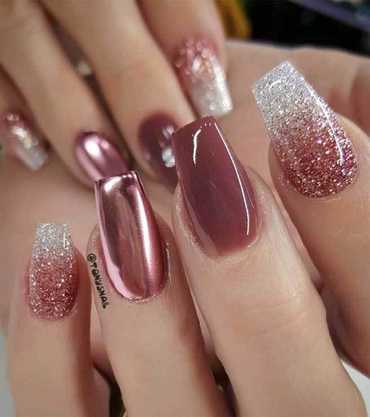 39 Trendy Fall Nails Art Designs Ideas To Look Autumnal