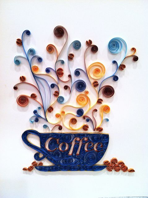 Quilling - paper 2013 Robin Milne | Flickr - Photo Sharing! Maybe Jen could quill us one of these?