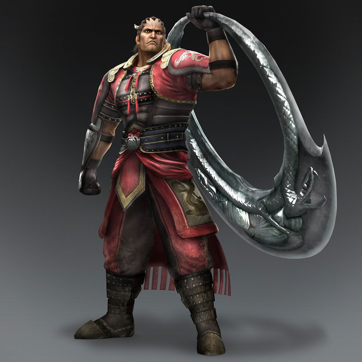 Warriors Orochi Ares: Ding Feng & Weapon (Wu Forces)