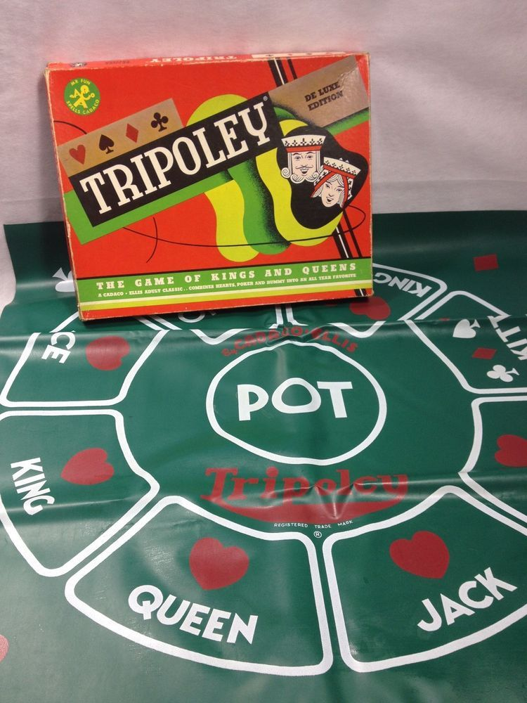 1960 tripoly deluxe edition three games in one hearts
