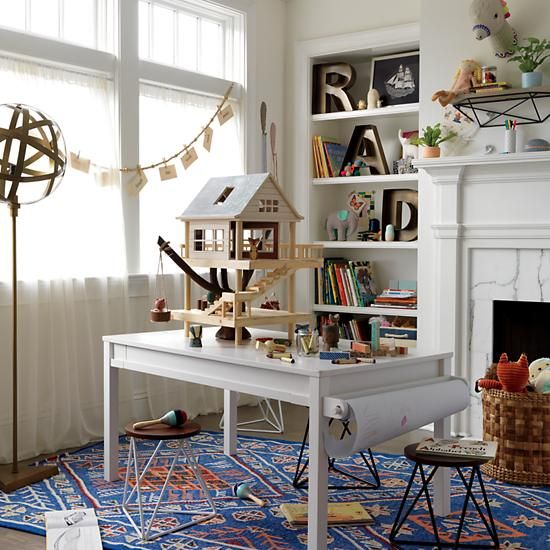Shop Heritage Rug The Intricate Pattern On This Wool Rug Makes It Stylish Enough For Your Own Living Room While Als Attic Renovation Attic Rooms Attic Design