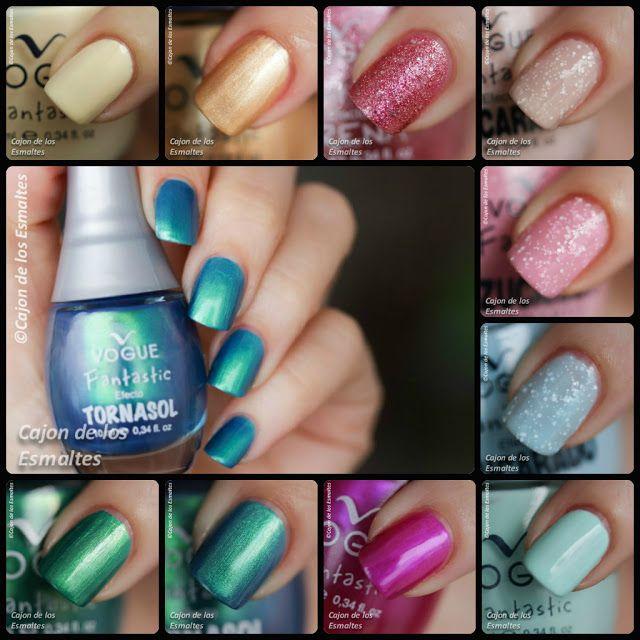 Esmaltes de uñas Vogue | Esmalte, Decoración de uñas y Uña decoradas