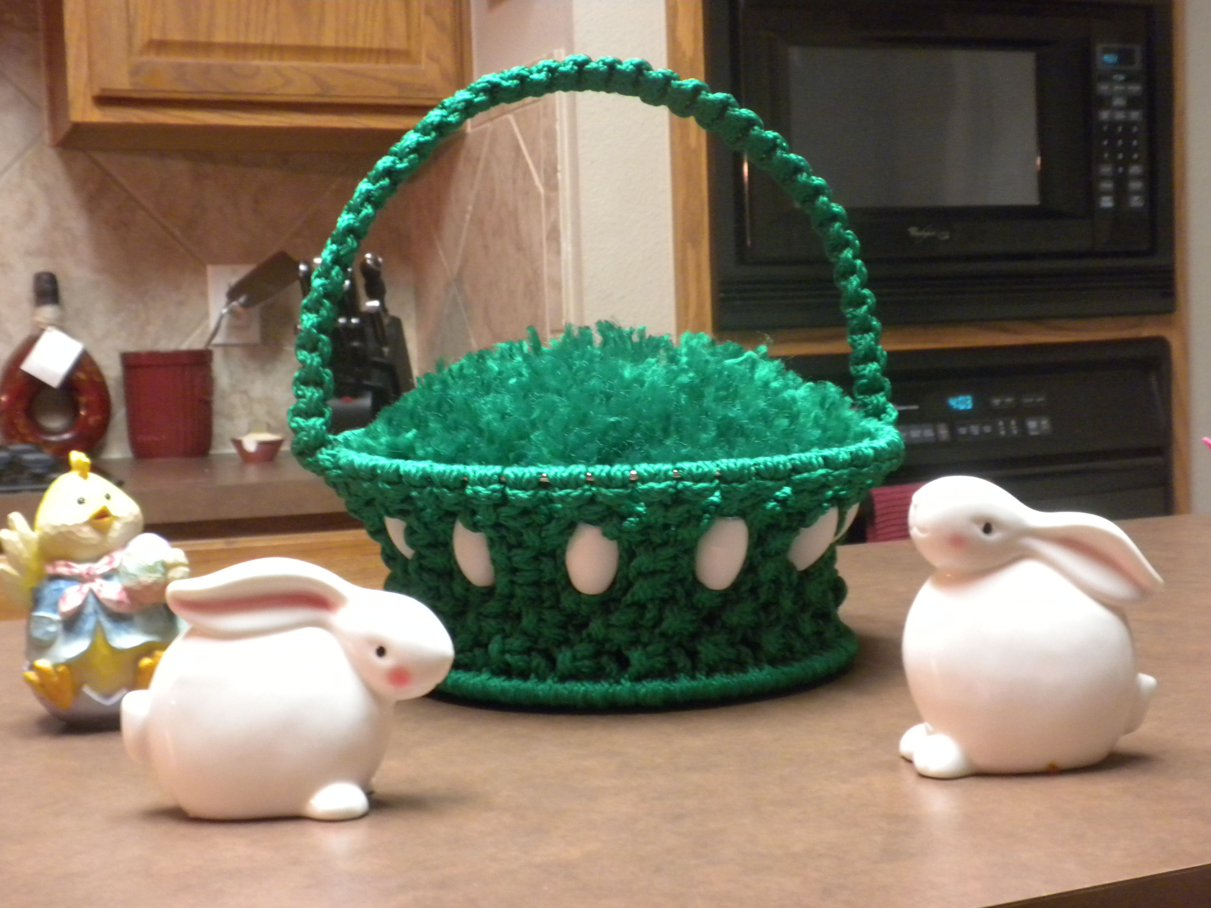 kelly green Easter basket $30 other colors available