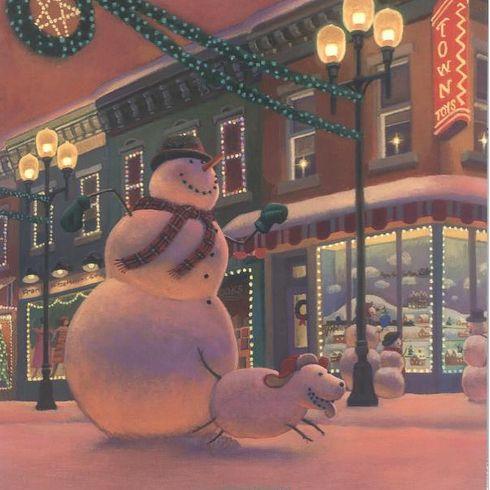 Snowmen At Christmas.Snowmen At Christmas By Caralyn Buehner Christmas