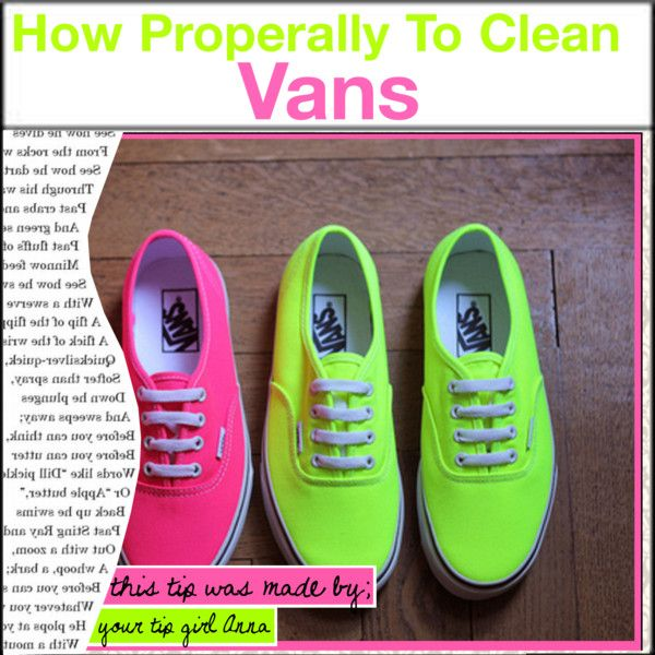 How to Properly clean Vans  639f09138
