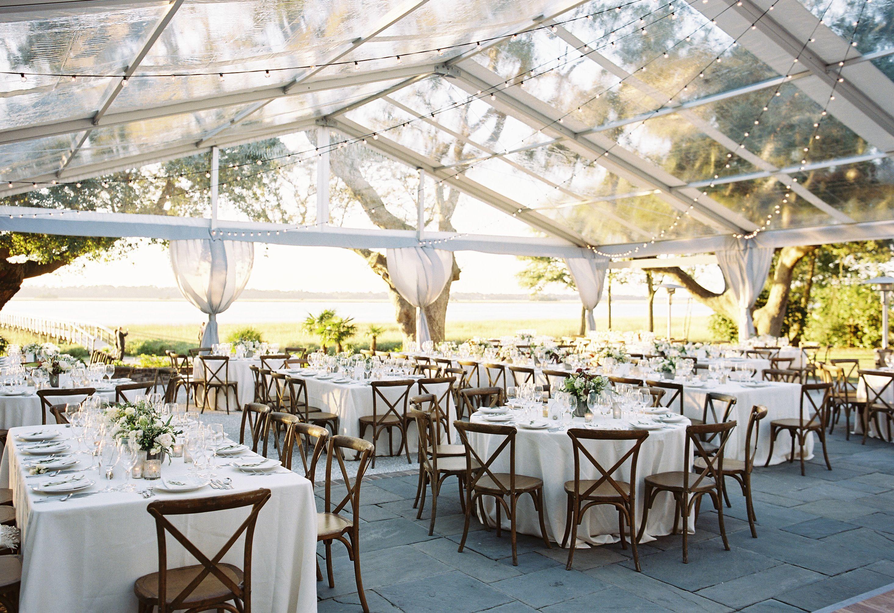 Lowndes Grove Plantation New tent Charleston, South