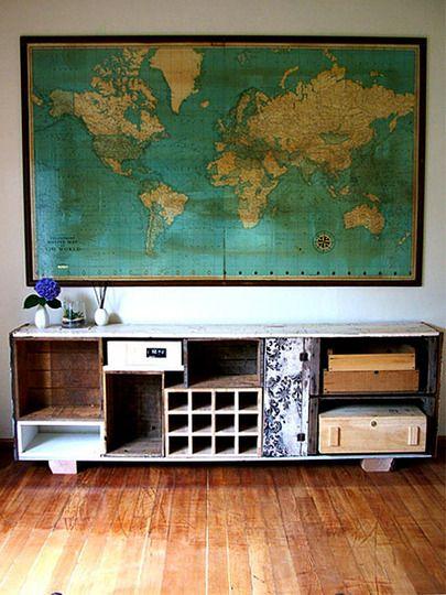 mucho reciclaje: Qué mueble!!!