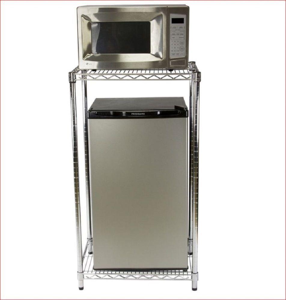 Dorm Room, Mini Fridge Microwave Cabinet For Dorm