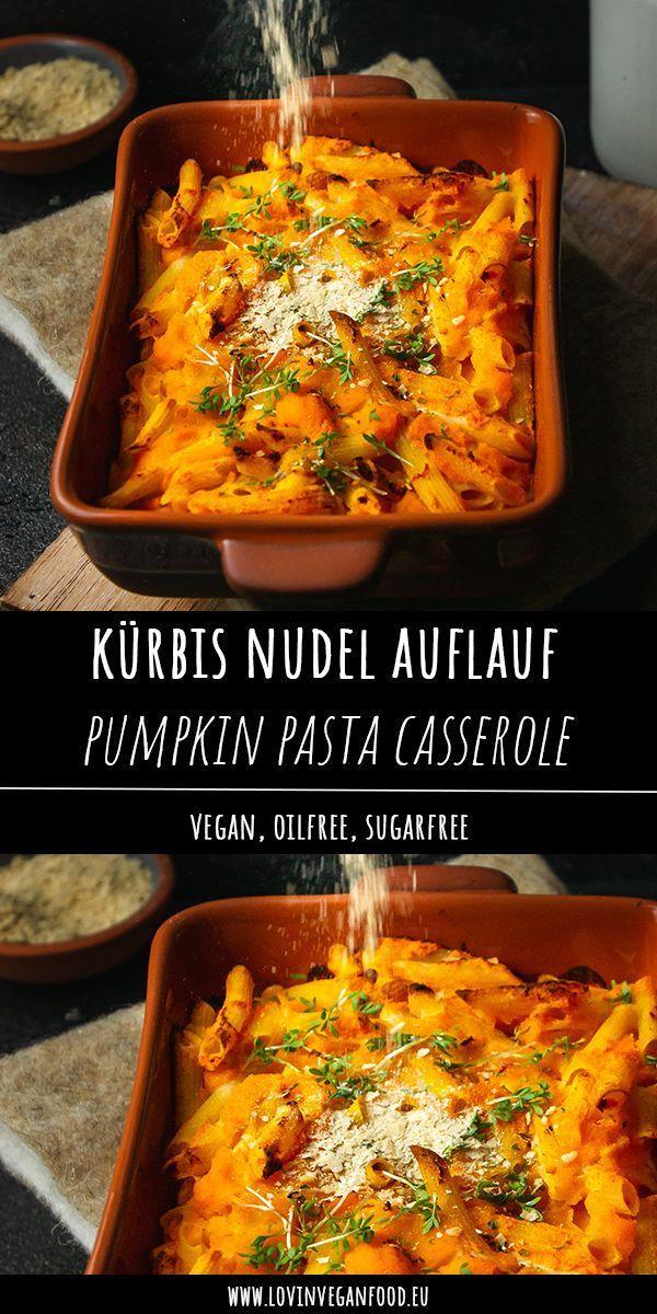 Vegan Pumpkin Pasta Casserole