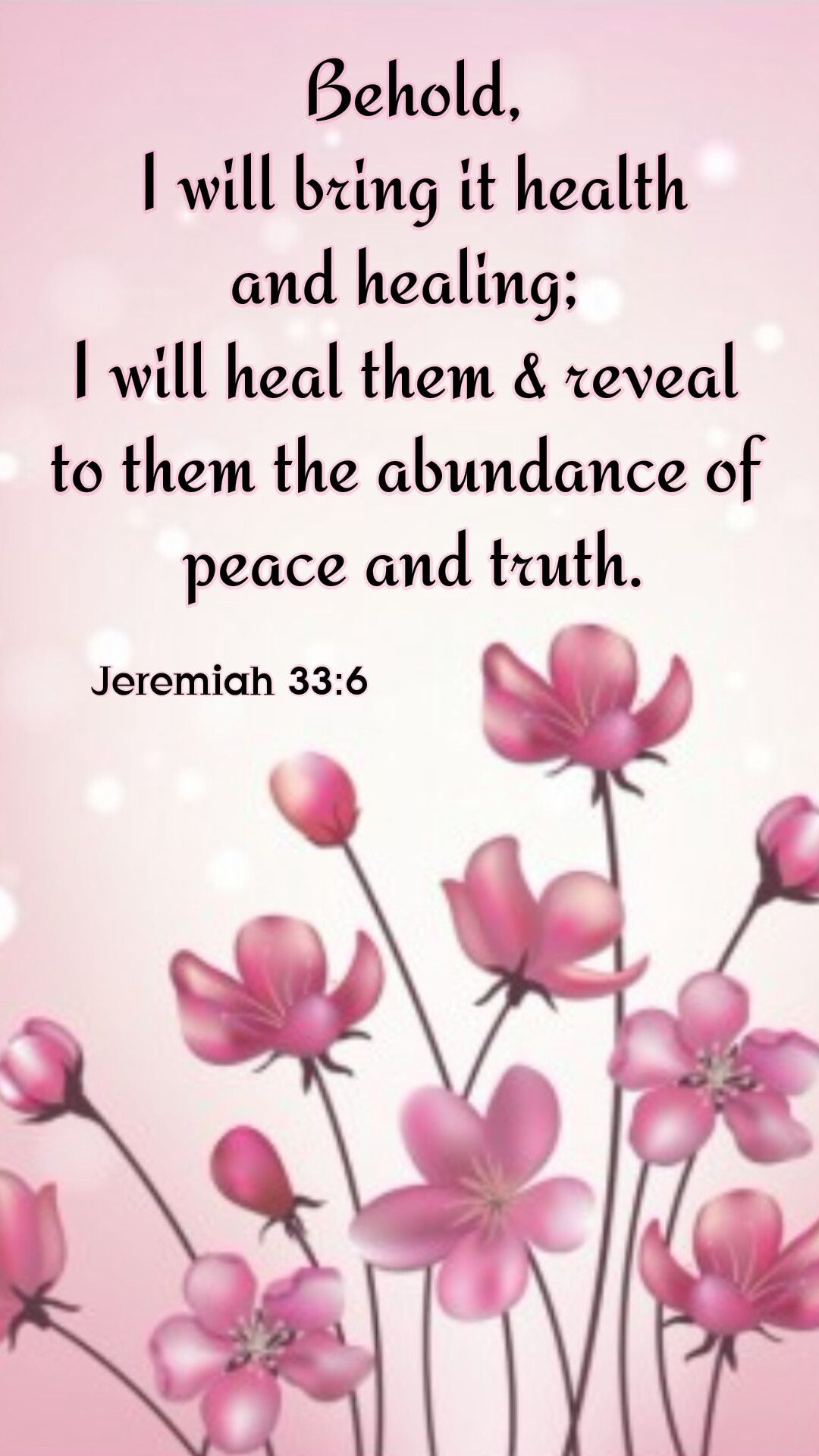 Jeremiah 336 and jesus is peace and truth micah 55